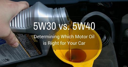 5w30 ou 5w40 diesel