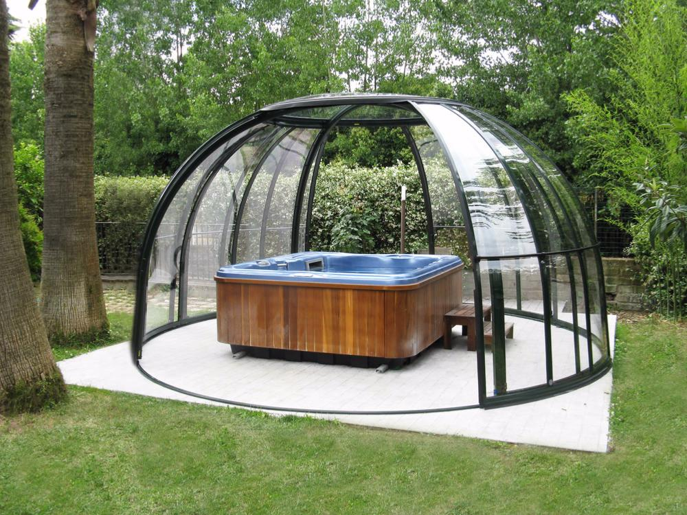 abri pour spa