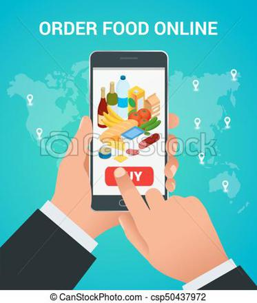 achat en ligne nourriture