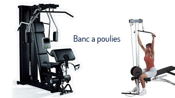 acheter banc de musculation