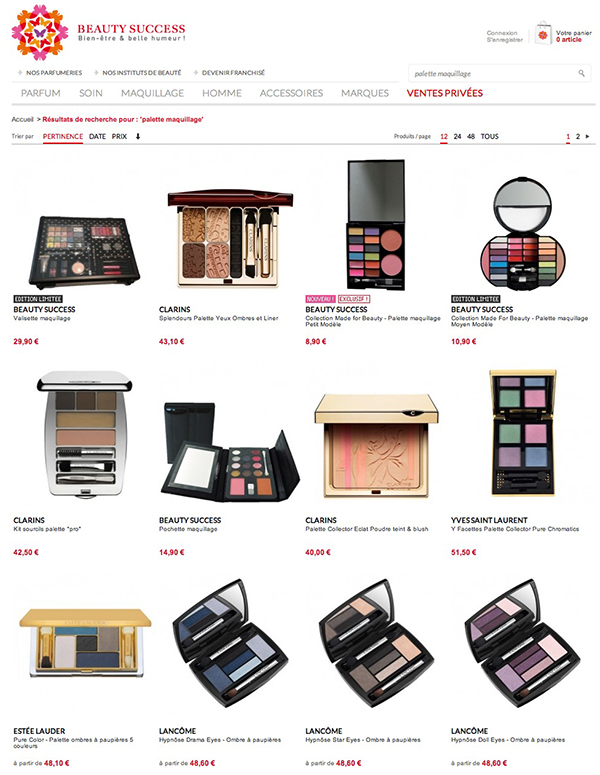 acheter maquillage pas cher