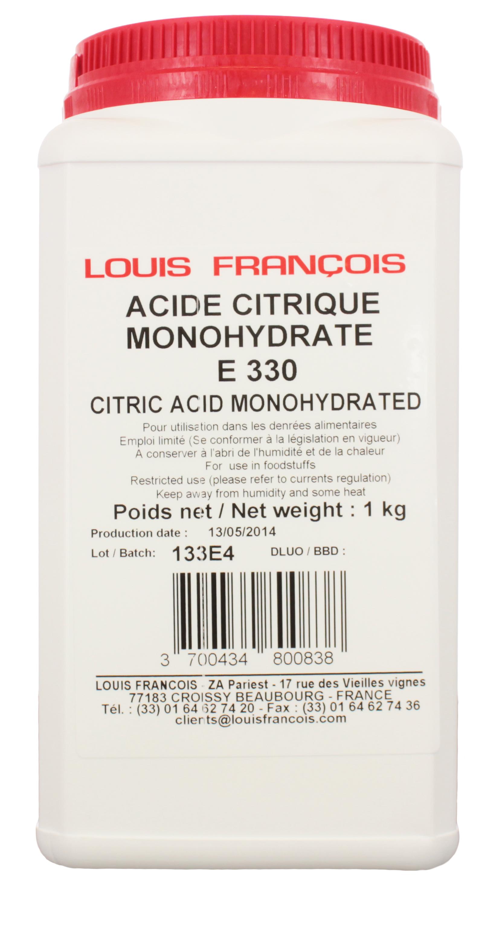 acide citrique alimentaire ou acheter