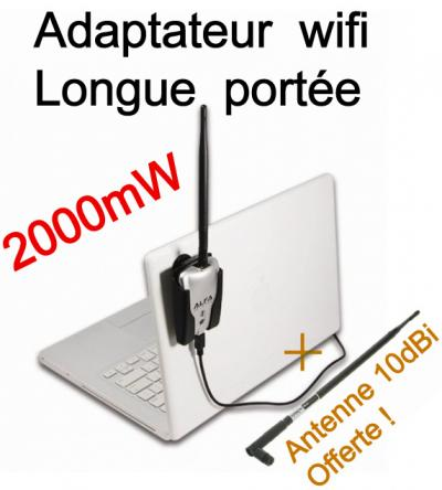 adaptateur wifi usb longue portée