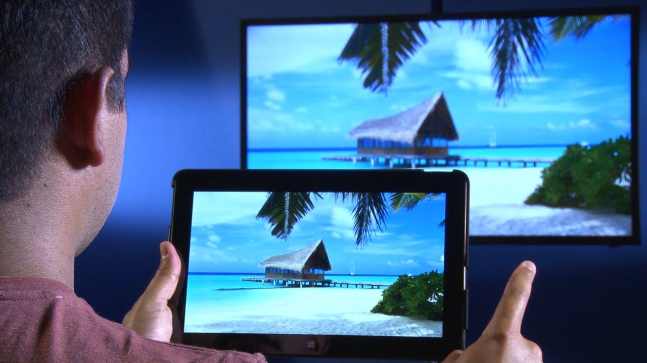 afficher ecran pc sur tv sans fil