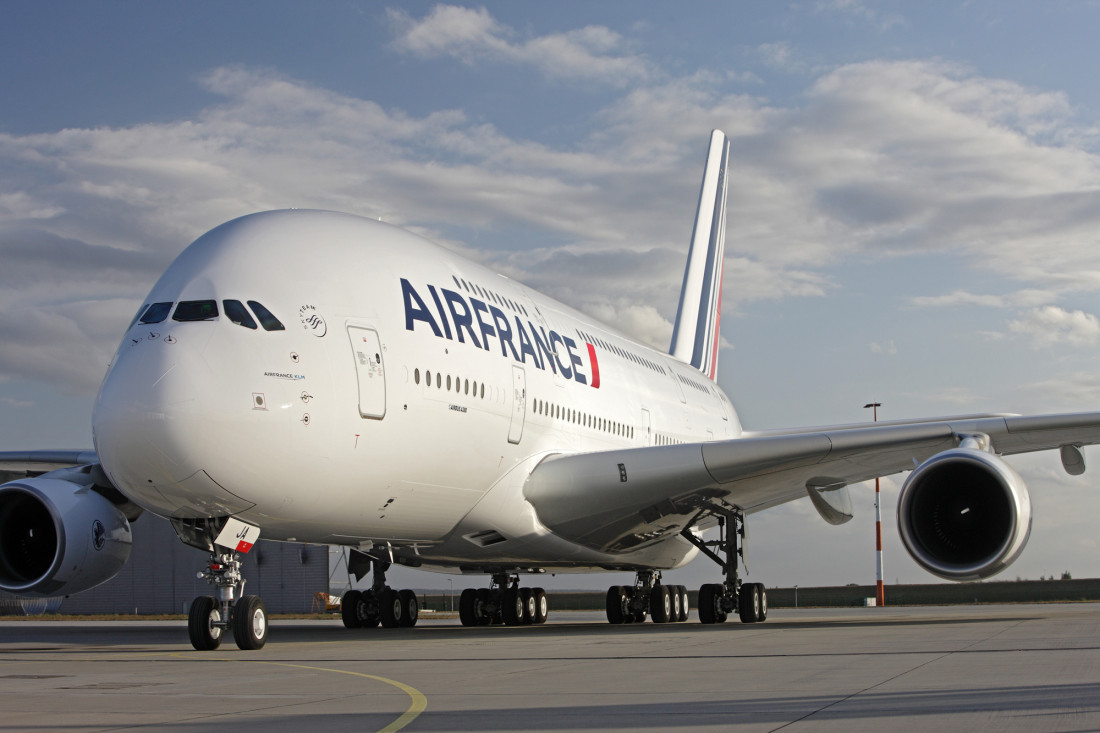 air france double decker