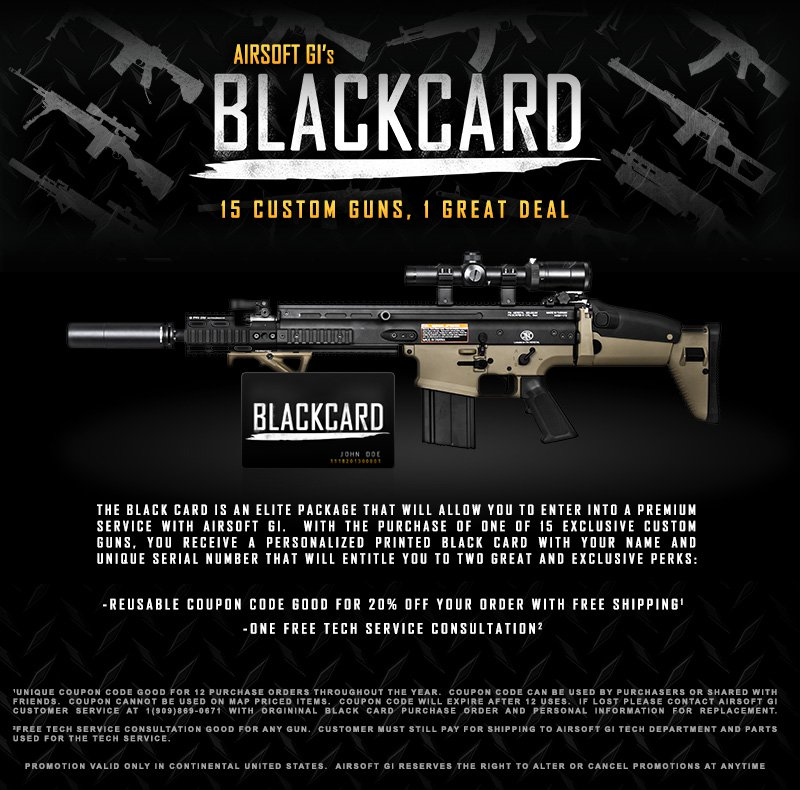 airsoft promotion