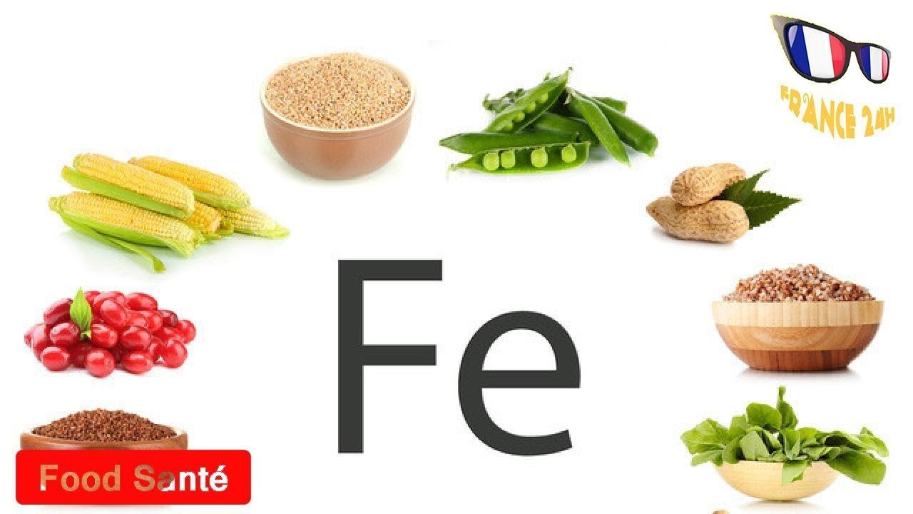 aliments contenant fer
