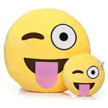 amazon coussin emoji