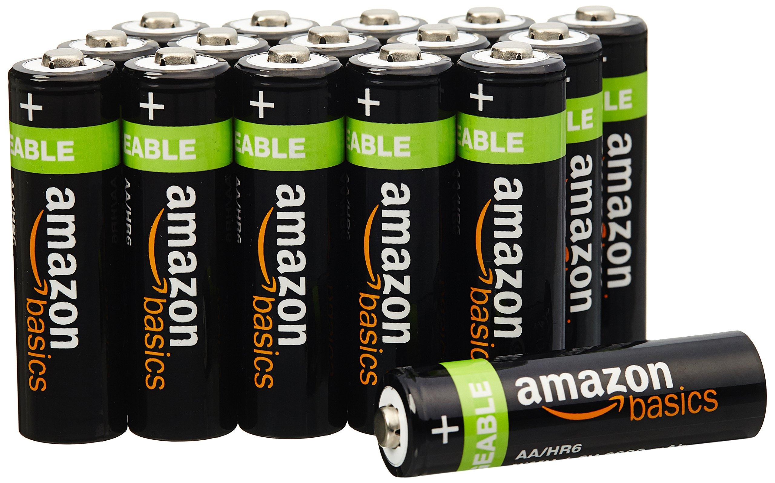 amazon piles rechargeables