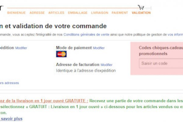 amazon port gratuit