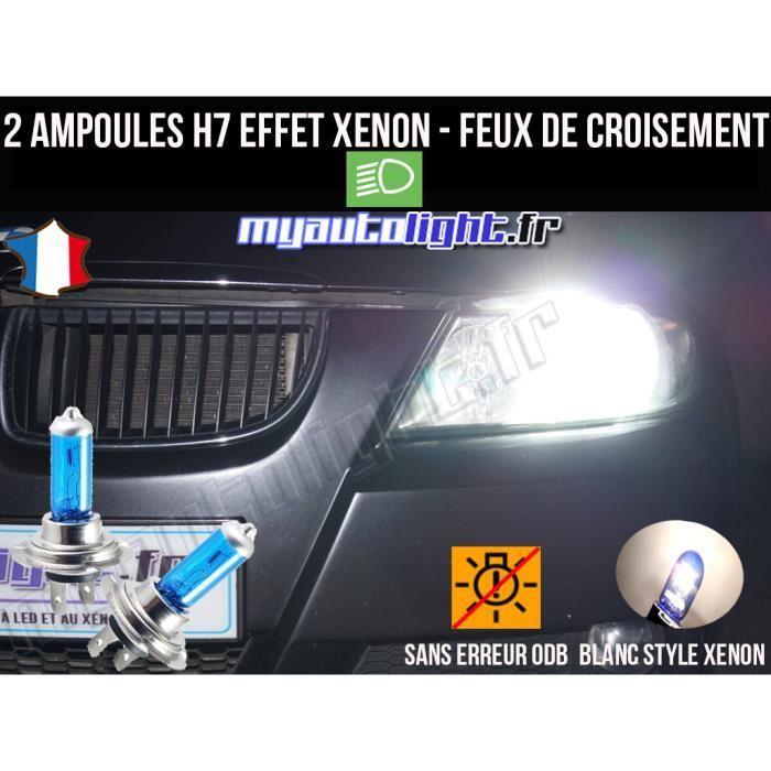 ampoule h7 blanc xenon