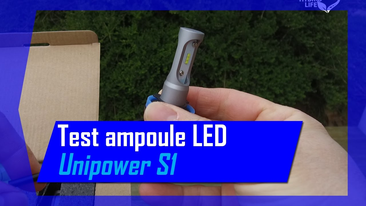 ampoule led test