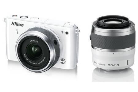 appareil photo nikon blanc