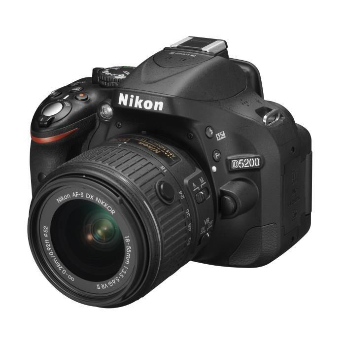 appareil photo nikon d5200 pas cher
