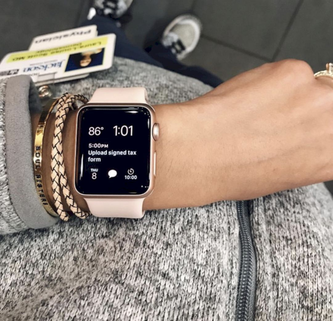 apple watch femme prix
