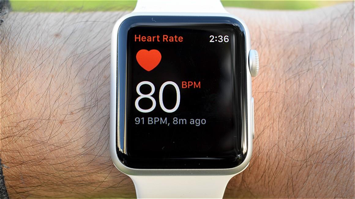apple watch serie 1 test