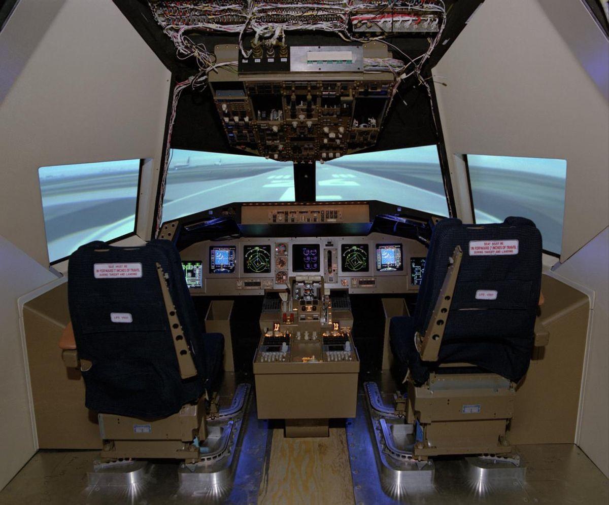 application simulateur de vol