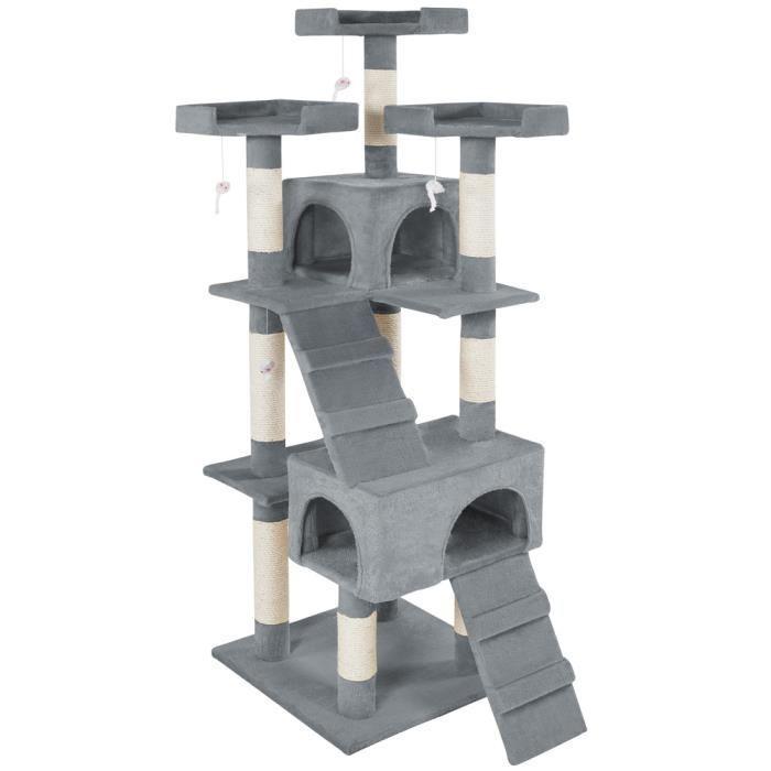 arbre à chat gris