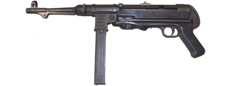 arme longue a blanc