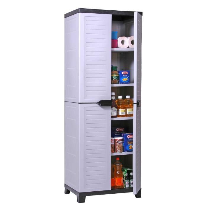 armoire rangement plastique