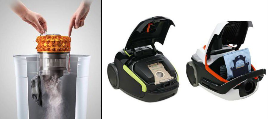 aspirateur sans ou avec sac
