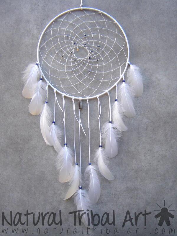 attrape rêve blanc