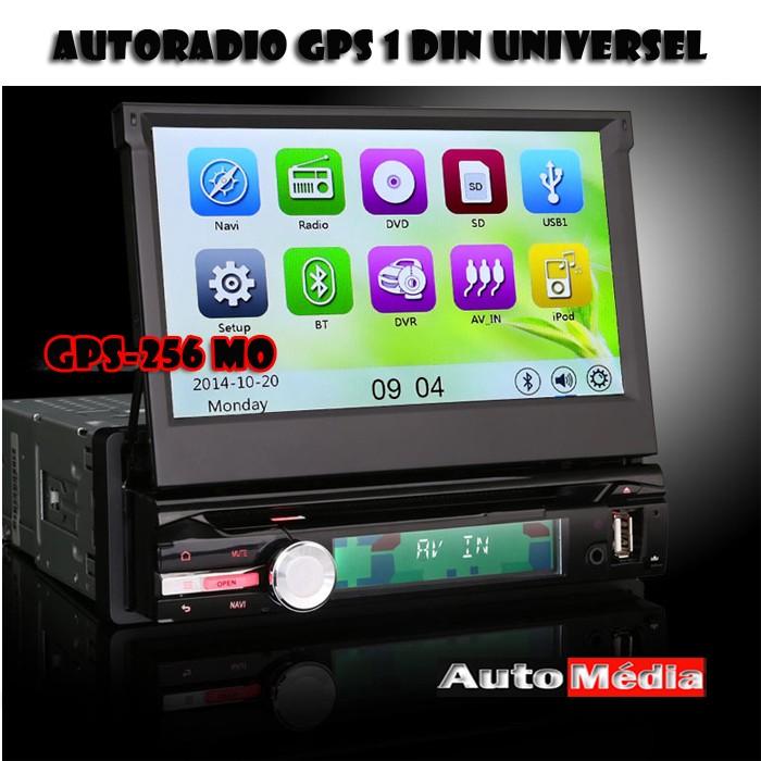 autoradio dvd gps bluetooth pas cher