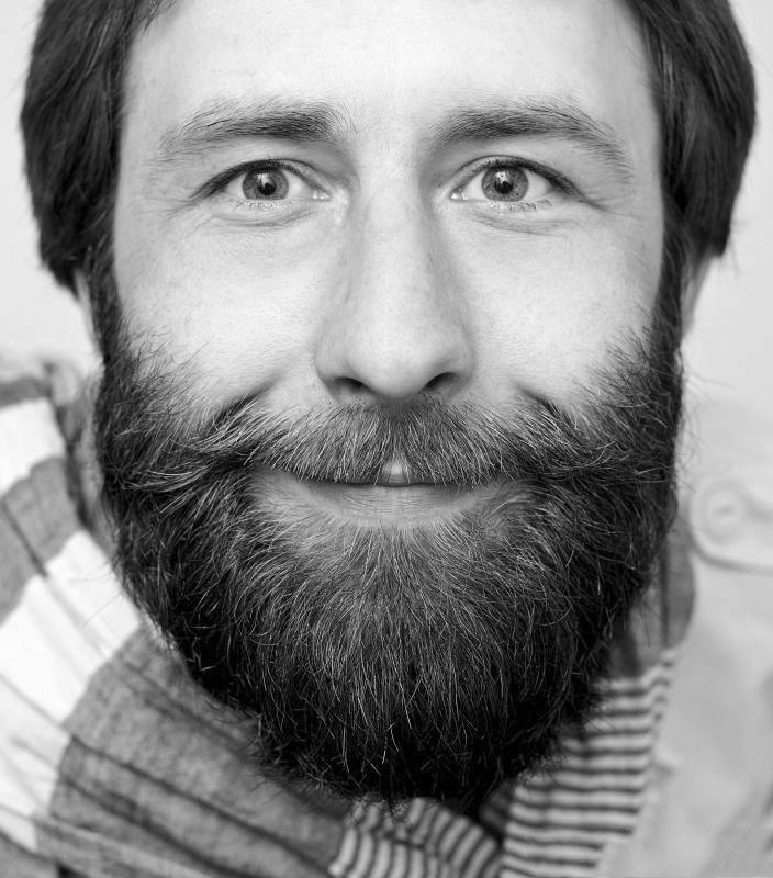 avoir une barbe douce