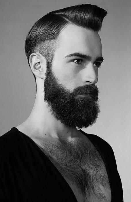 avoir une belle barbe