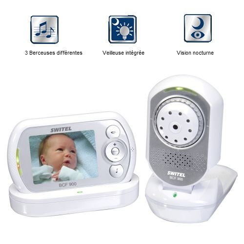babyphone video infrarouge
