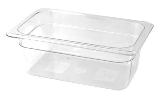 bac alimentaire plastique professionnel