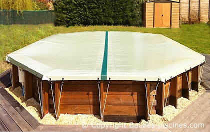 bache protection piscine hors sol