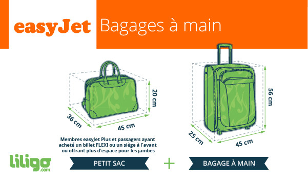 bagage a main easyjet