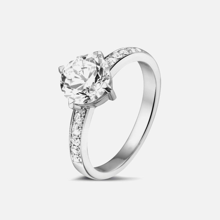 bague avec diamant pas cher