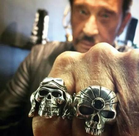 bague johnny hallyday