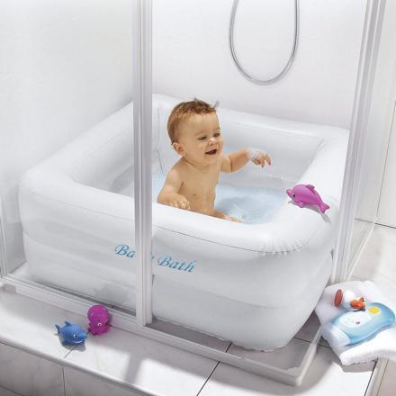 baignoire bébé dans douche