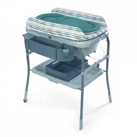 baignoire et table à langer