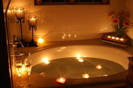 bain relaxant huiles essentielles