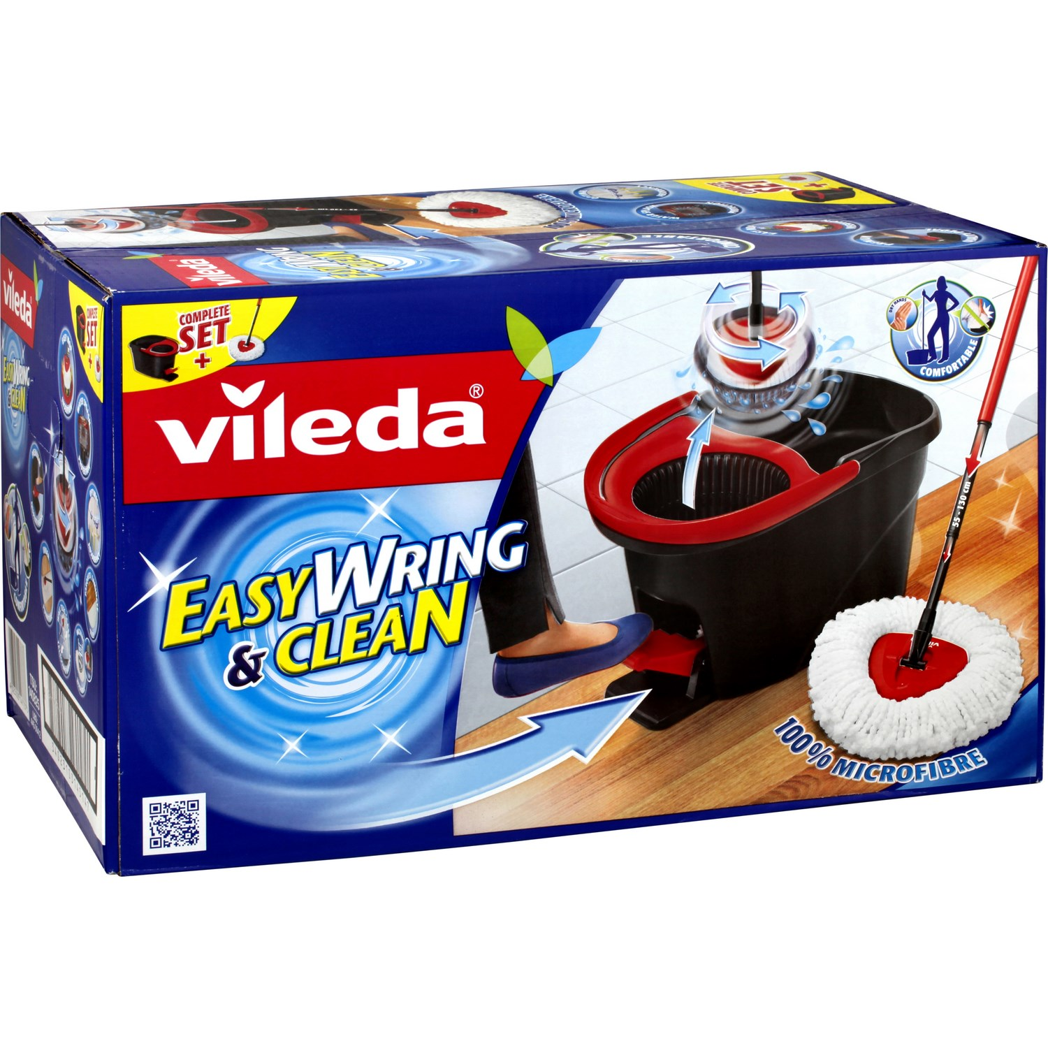 balai vileda easy wring and clean