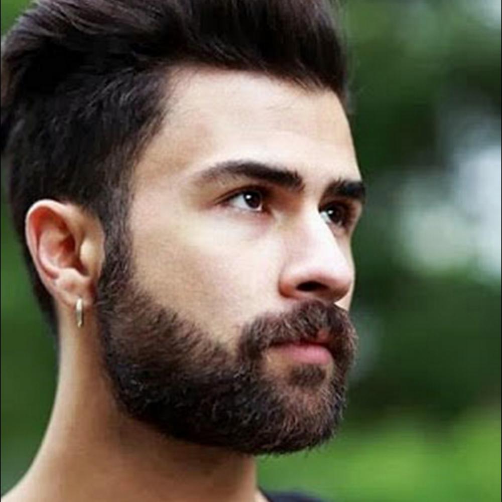 barbe de 1 mois