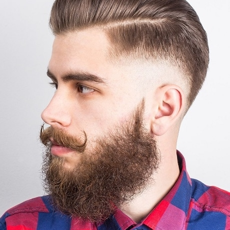 barbe frisée