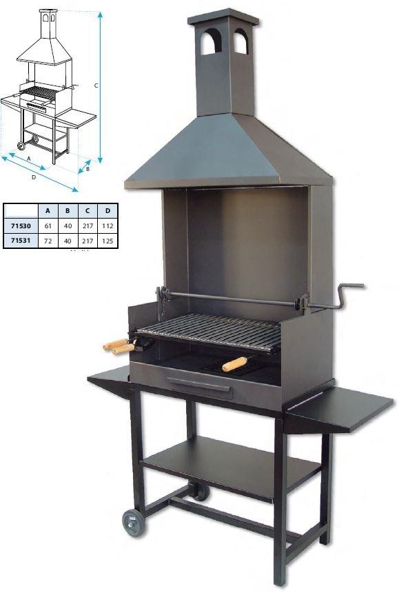 barbecue acier