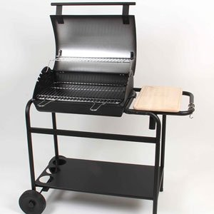 barbecue couvercle charbon