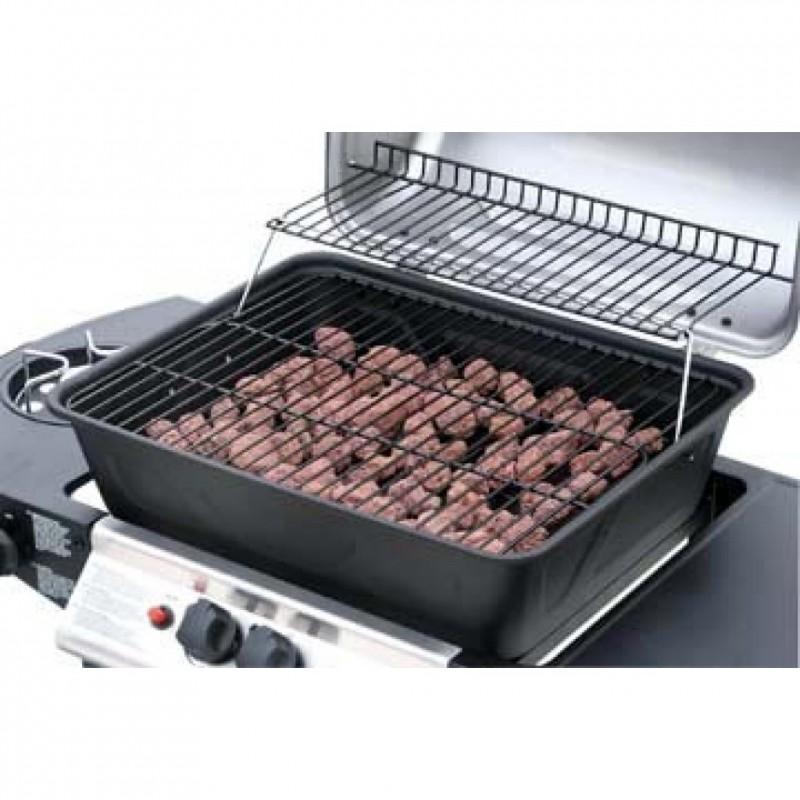 barbecue gaz pierre de lave