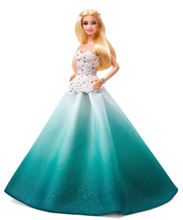barbie de noel 2016
