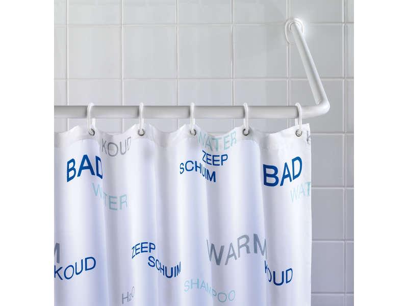 barre d angle pour rideau de douche