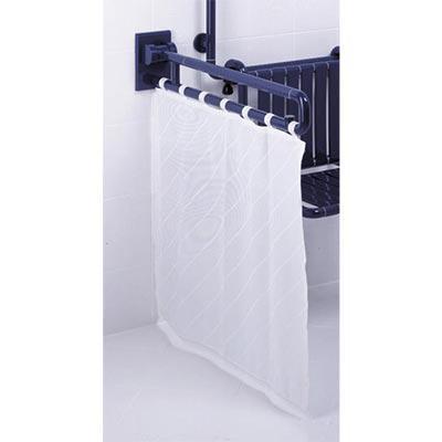 barre de douche retractable