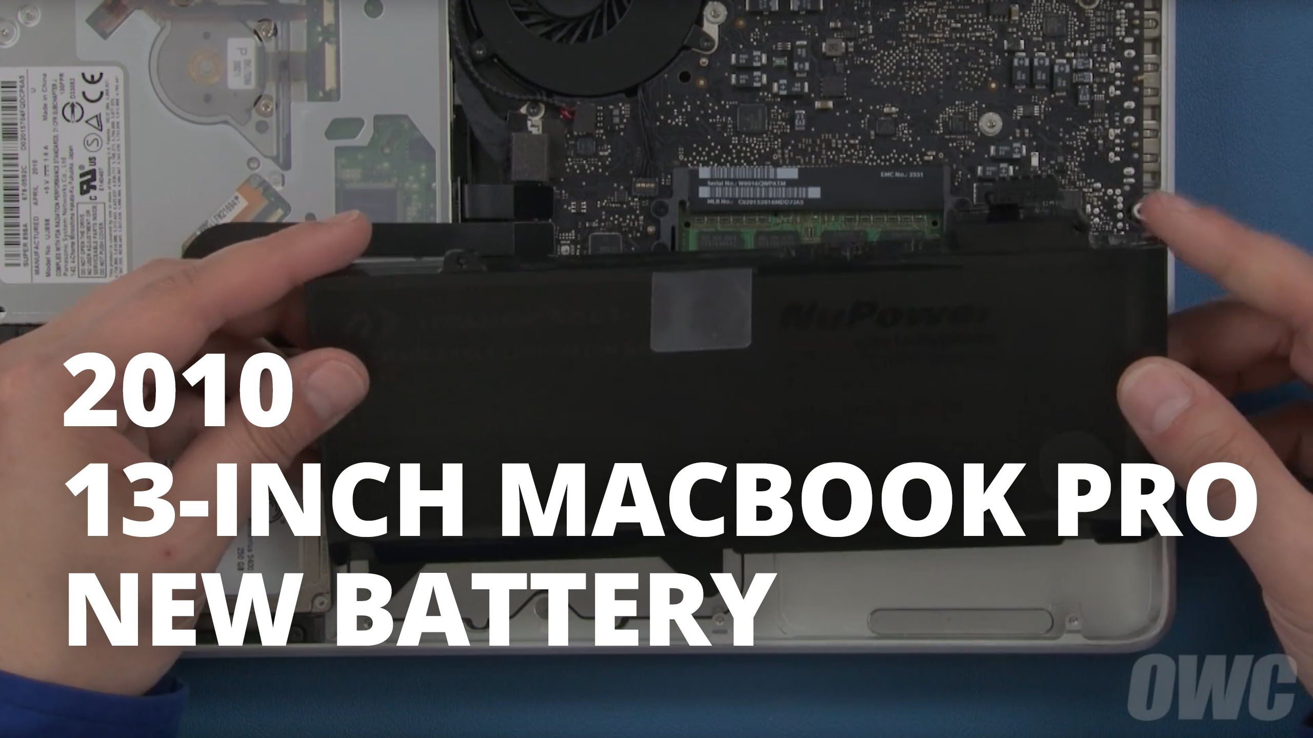 batterie macbook pro 13 2010