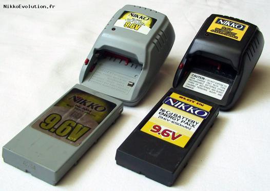 batterie pour voiture télécommandée nikko de 9.6 v