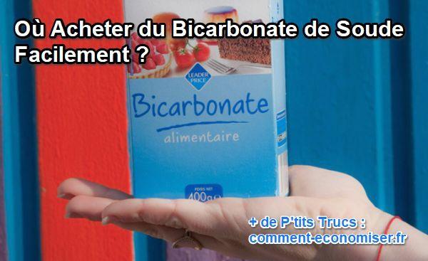 bicarbonate de soude où acheter
